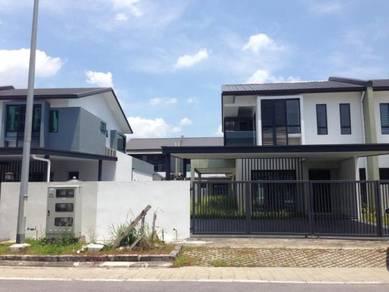 New IBRACO Double Storey Terrace Corner Tabuan Tranquility 2 Stutong
