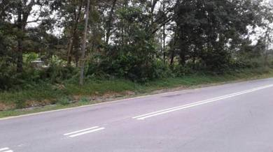 2.23 acres agricultural , broga, semenyih ,main road land, eco forest