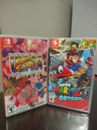 Nintendo switch mario odyssey n street fighter