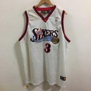 NBA Sixers iverson Jersey Size XXXL
