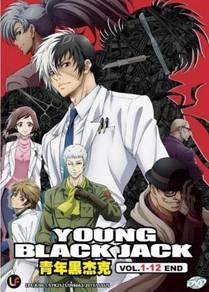 DVD ANIME Young Black Jack Vol.1-12End