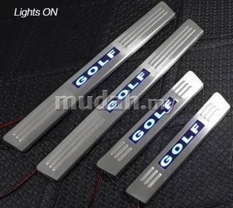 GOLF MK6, VW PASSAT LED Door Side Sill Step Plate