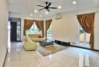 [renovated] [6r+6b] 2.5 storey semi d kemensah mewah, gated & guarded