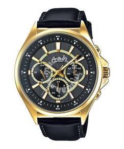 Watch - Casio 3 Dials MTPE303GL-1 - ORIGINAL
