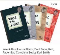 Wreck this journal combo book set