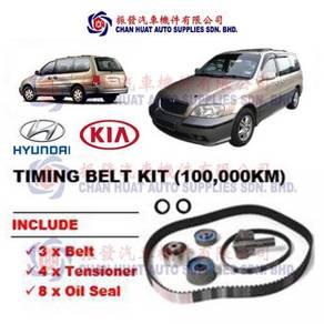 Naza Ria Kia Carnival Timing Belt Kit SET Bearing