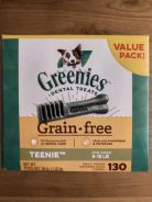 Greenies Grain Free - Teenie Dog Treat 130 pieces