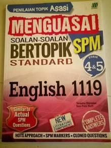 Buku latihan Bahasa inggeris