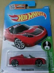 Hotwheels Tesla Roadster