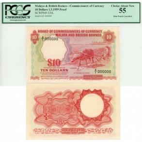 Membeli Straits Settlement Malaya wang kertas lama