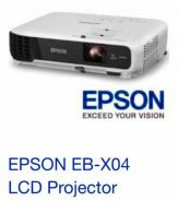 Epson EB-X04 LCD Projector