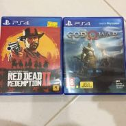Red dead redemption 2 and god of war 4