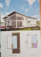 Rawang New 1.5 Storey SEMI-D Factory For SALE BRAND NEW UNIT