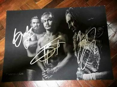 WWE Superstar Autograph