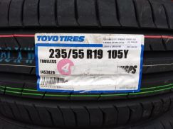 235/55/19 Toyo Proxes Sport SUV Tyre Japan2019Tyre