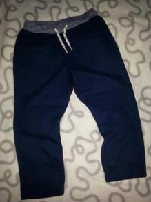 Carters Navy Blue Elastic Waist Pants