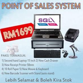 SQL Point of Sales POS System Basic Device Laptop