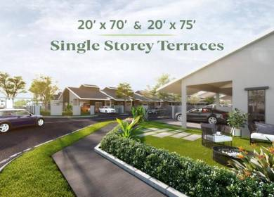 NEW Single Storey! Deposit RM55 je!!!
