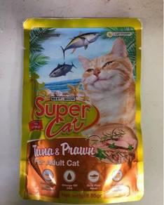 Supercat pouch wet food