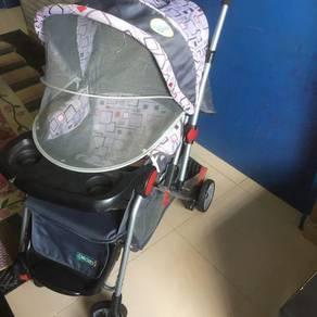 Stroller bayi Baby Stroller Toddler stroller