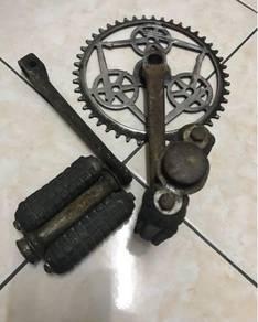 Crank royal enfield basikal tua antik
