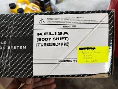 D2 ADJUSTABLE SUSOENSION HI /LO For KENARI/KELISA