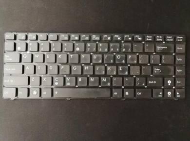 Asus Laptop Keyboard /Laptop Charger / VGA Cable