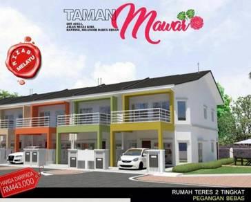 Projek baru teres 2 Tingkat di Banting, Selangor