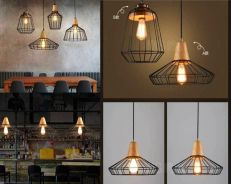 Sales! Vintage Loft Industrial Style Hanging Light