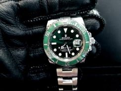 PREOWNED ROLEX SUBMARINER, Green HULK, 116610 LV,