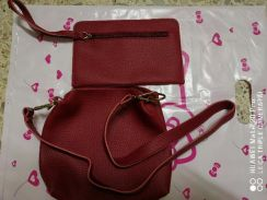Wallet and sling beg 1 set