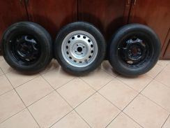 Spare rim with tyre