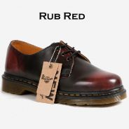 Dr Martens 1461 3 Eye Original Rub Red
