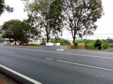 Main Road Fronttage Jln Kluang Parit Sonto Batu Pahat
