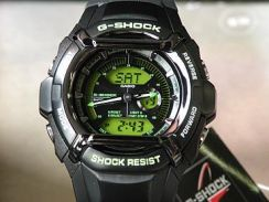 CASIO Casio G shock g-550FB-1 A3DR LCD colour