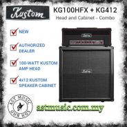 Kustom KG Series Guitar Amp Head And Cabinet