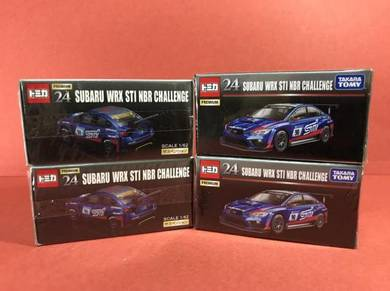Tomica Premium #24 Subaru Wrx Sti Nbr Challenge