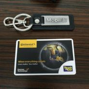 Limited Edition Continental Touch & Go card