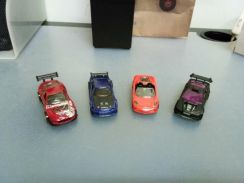 Hot Wheels - 4 cars for one price