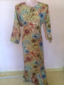Bjk083 baju kurung biasa