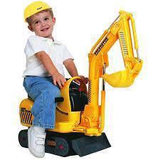 Mini escavator toadler