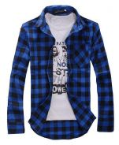 526 Kemeja Lengan Panjang Long-Sleeved Shirt