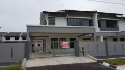 New semi detached house at jln stapok utama, kuching