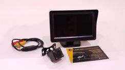 4.3 Monitor & LED Night Vision Wide Angle Camera