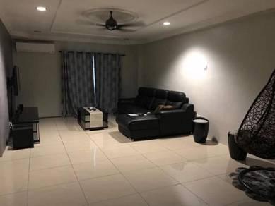 1350 sq ft perdana villa apartment full reno + furnished