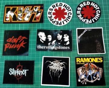 Sticker band 09