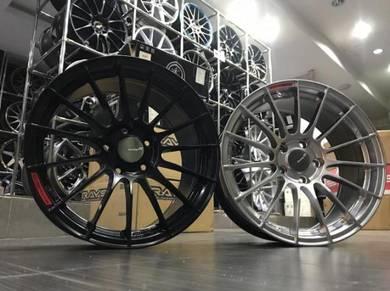 Sport rim Baru Enkei RS05RR Cutting Ori Thai 17inc