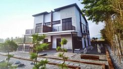 Double storey semi detached,taman tropika,kulai