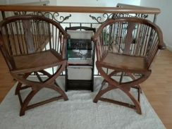 Chinese Rose Wood Chairs