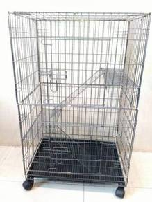 Sangkar Kucing Baru Untuk Dijual- 2 tingkat
